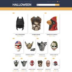 Halloween Responsive OpenCart Template