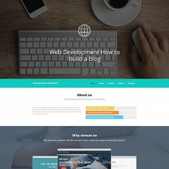 Web Development Responsive Moto CMS 3 Template