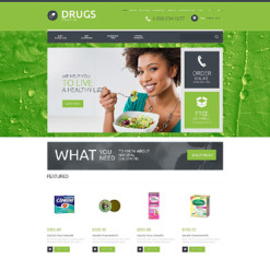 Drug Store OsCommerce Template