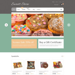 Sweet Shop Responsive WooCommerce Theme