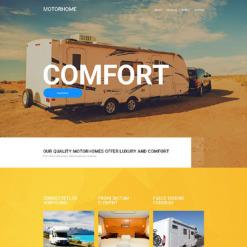 Motor Homes & RVs Responsive Website Template