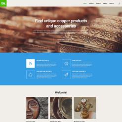 Industrial Responsive Website Template