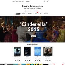 Music Store Responsive WooCommerce Theme