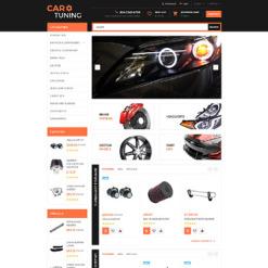 Car Tuning Responsive OpenCart Template