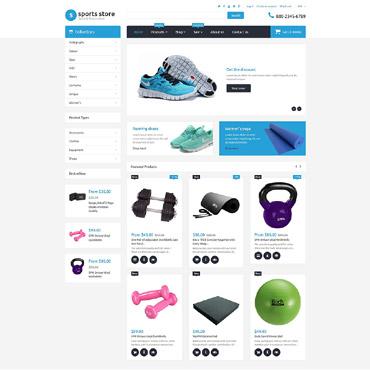 Sports Store Responsive Shopify Theme
