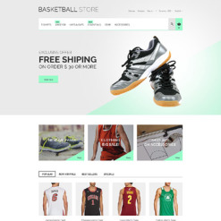 Basketball Responsive PrestaShop Theme
