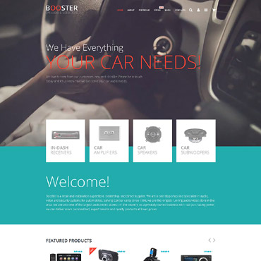 Car Audio  Video WooCommerce Theme #55744