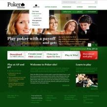 Online Poker PSD Template