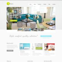 Interior & Furniture PSD Template