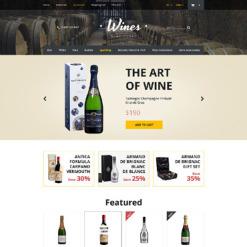 Wine Responsive OpenCart Template