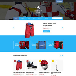 Hockey Shopify Theme