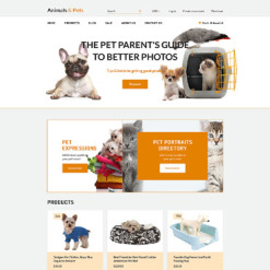 Animals & Pets Responsive Shopify Theme