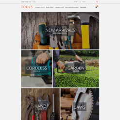 Tools & Equipment Responsive PrestaShop Theme