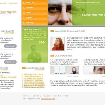 Career Education Website Template