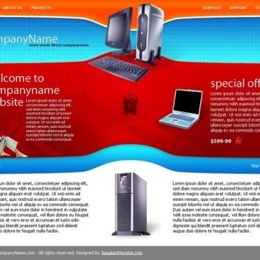 Computers Website Template