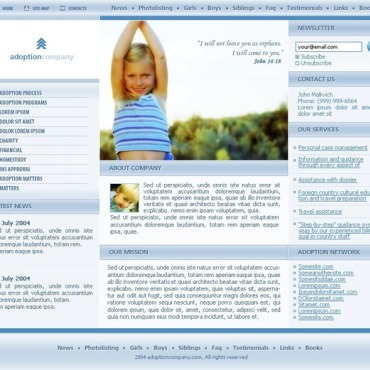 Adoption Agency SWiSH Template