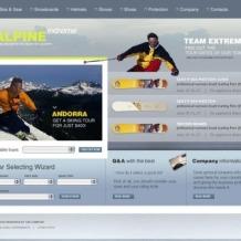 Snowboarding SWiSH Template