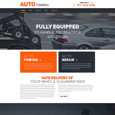theme WordPress Auto Towing